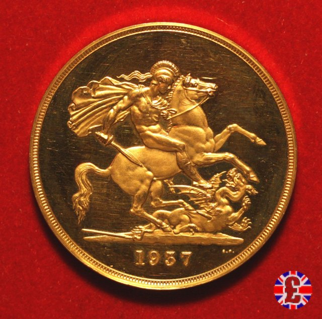 5 sovereigns 1937 (London)