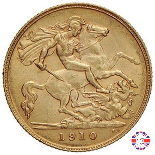 1/2 sovereign 1910 (London)