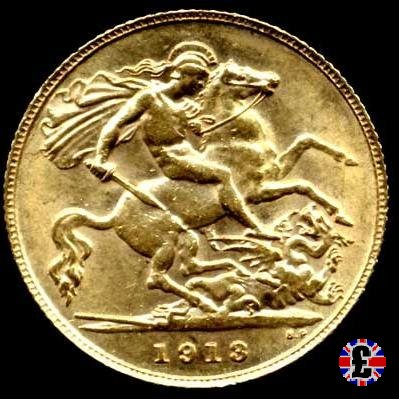 1/2 sovereign 1913 (London)