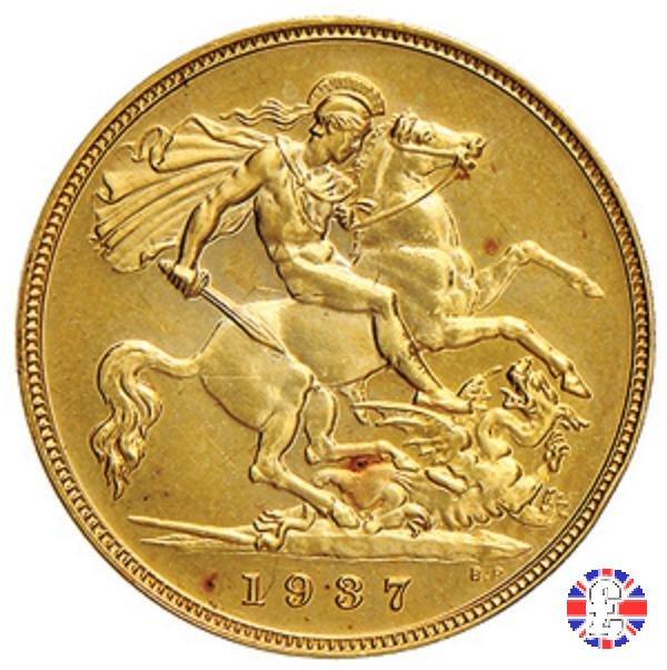 1/2 sovereign 1937 (London)