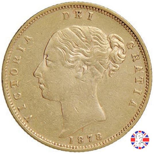 1/2 sovereign - tipo giovane 1878 (London)