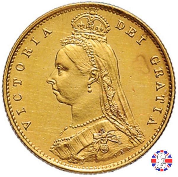 1/2 sovereign - tipo giubileo 1887 (London)