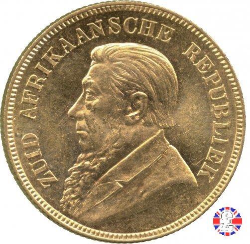 1 pond kruger 1892 (Pretoria)