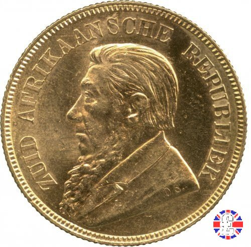1 pond kruger 1892 (Berlino)