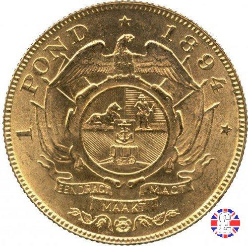 1 pond kruger 1894 (Pretoria)