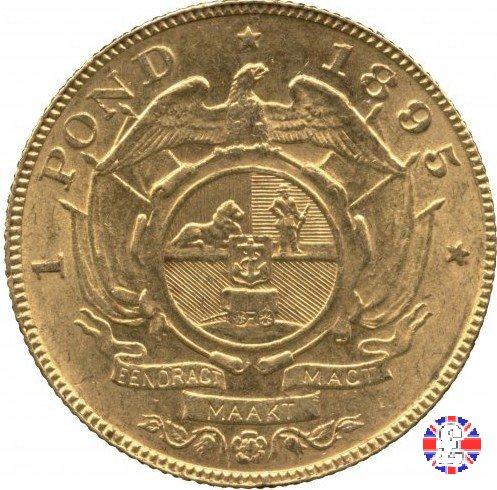 1 pond kruger 1895 (Pretoria)
