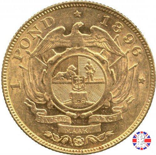 1 pond kruger 1896 (Pretoria)