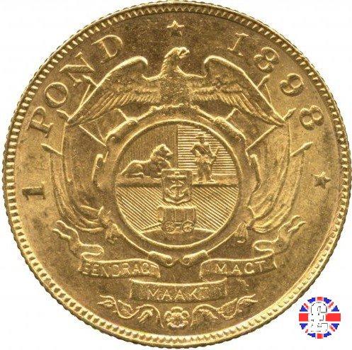 1 pond kruger 1898 (Pretoria)