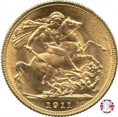 1 sovereign 1911 (Melbourne)