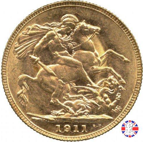 1 sovereign 1911 (Perth)