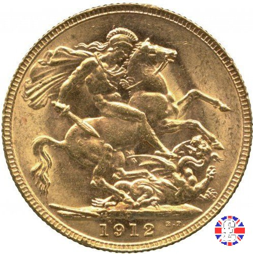 1 sovereign 1912 (Perth)