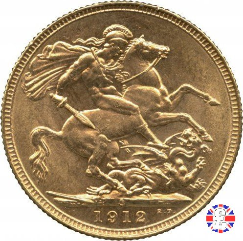 1 sovereign 1912 (Sydney)