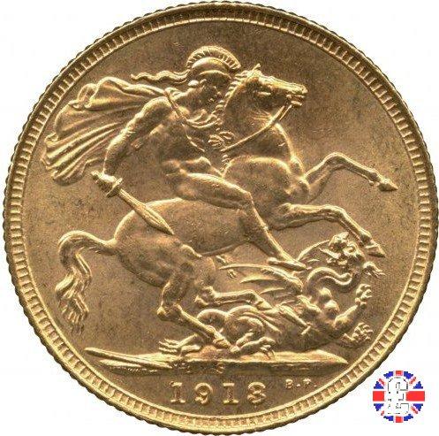 1 sovereign 1913 (Sydney)